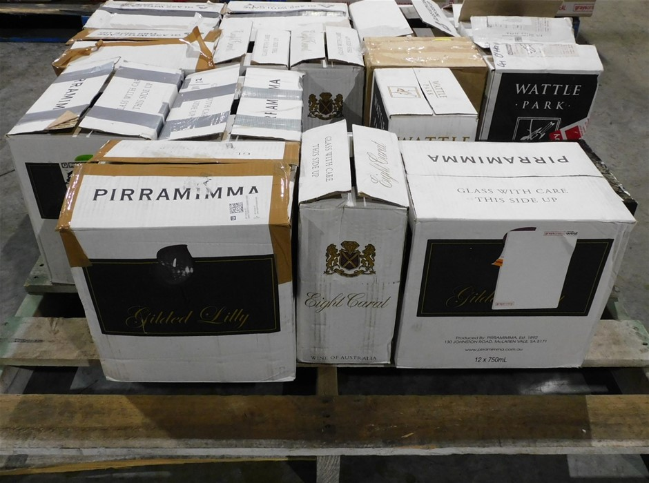 Pallet of Pirramimma Wine - Approx 135 Assorted Bottles of Pirramimma Wine