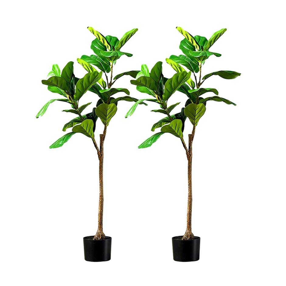 SOGA 2X 120cm Artificial Qin Yerong Tree Fake Plant Simulation Décor