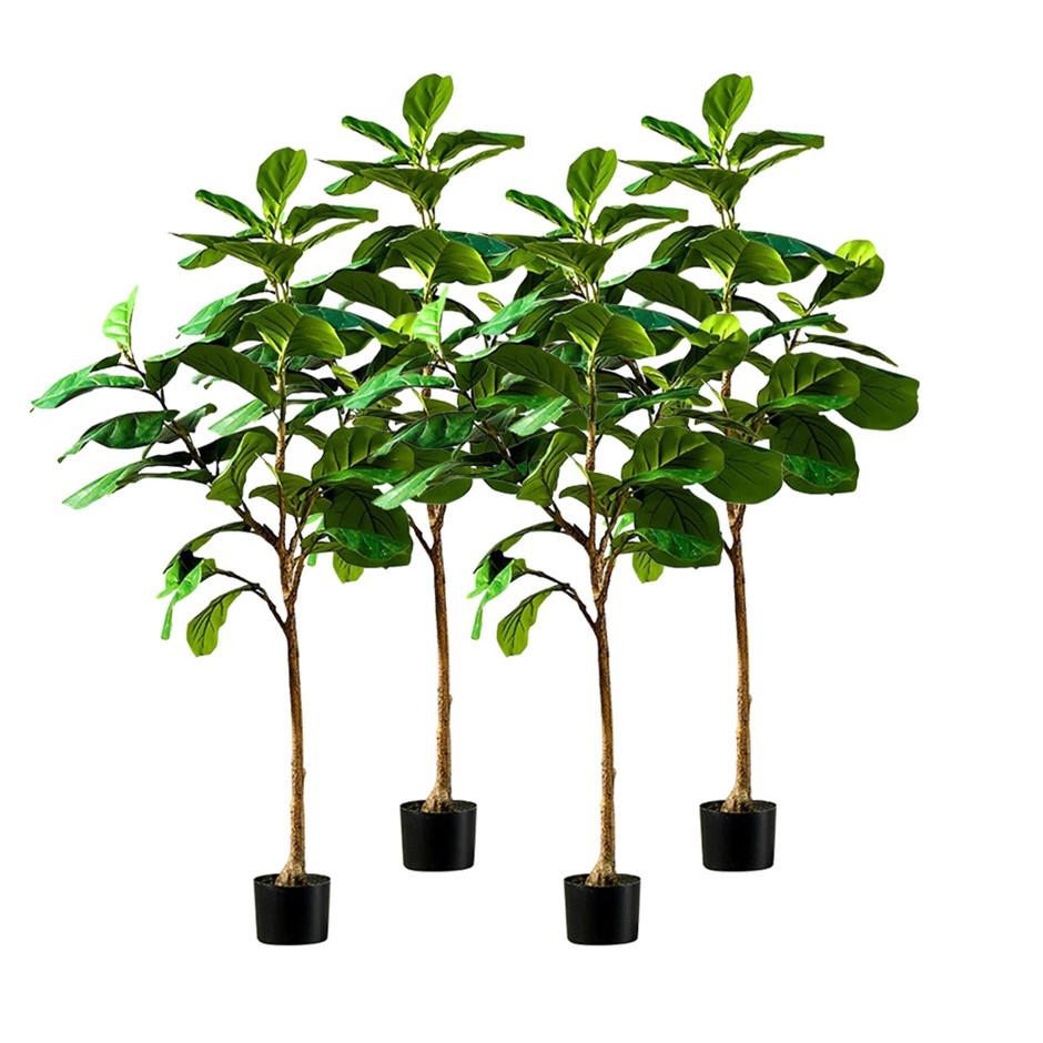 SOGA 4X 155cm Artificial Qin Yerong Tree Fake Plant Simulation Decor