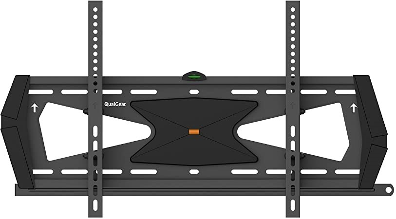 QUALGEAR Heavy Duty Tilting TV Wall Mount For 37``-70`` Flat Panel & Curved