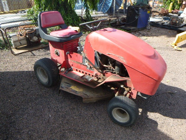 COX Ride-on Mower