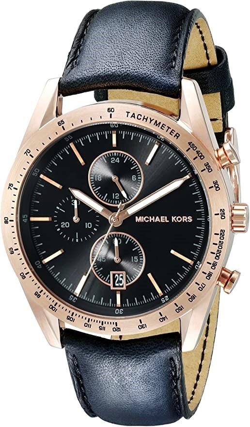 Michael Kors Couture NY quartz chronograph sporty masculine watch.
