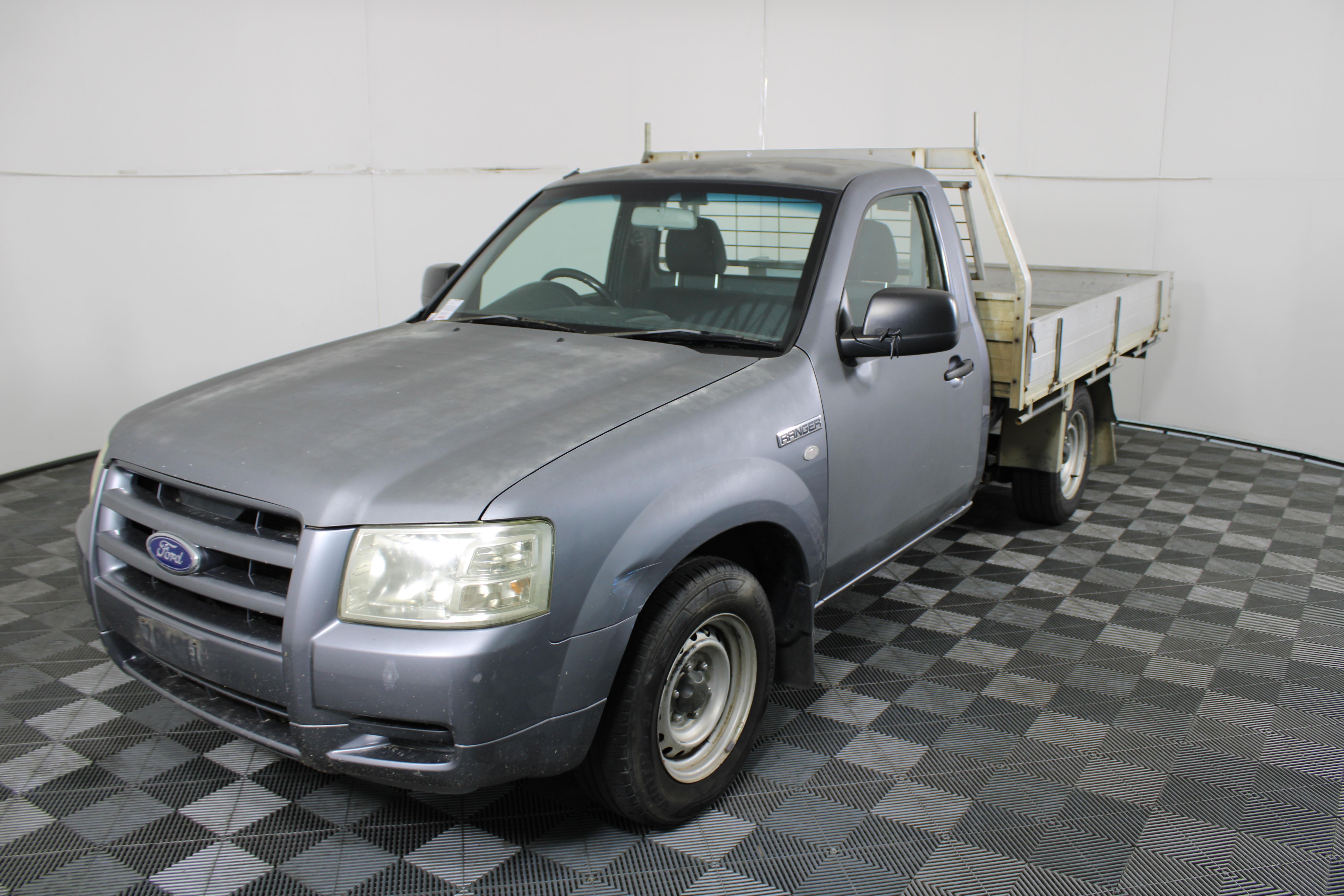 2007 Ford Ranger XL Turbo Diesel Cab Chassis