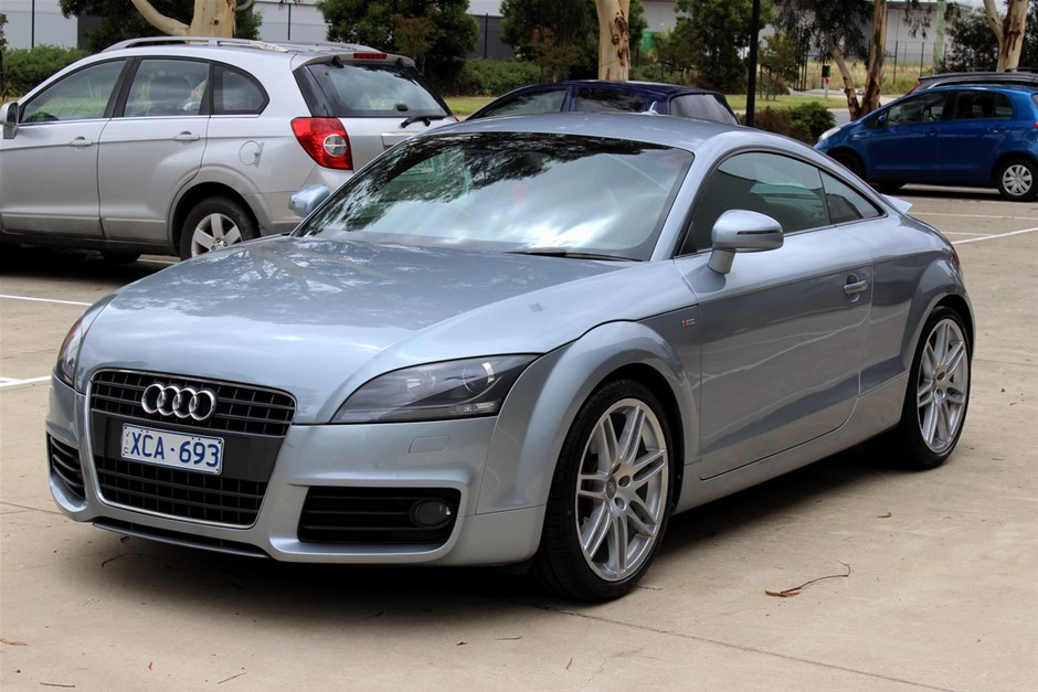 2009 Audi TT 8J MY09 S-Line Automatic Coupe (RWC issued 6 Jan 21)