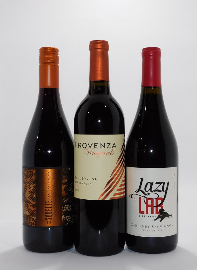 Mixed Pack of Imported Red Wine(12x 750mL)