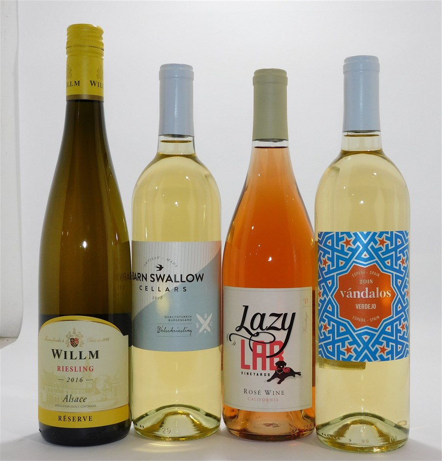 Mixed Pack of Imported Wine (12x 750mL)