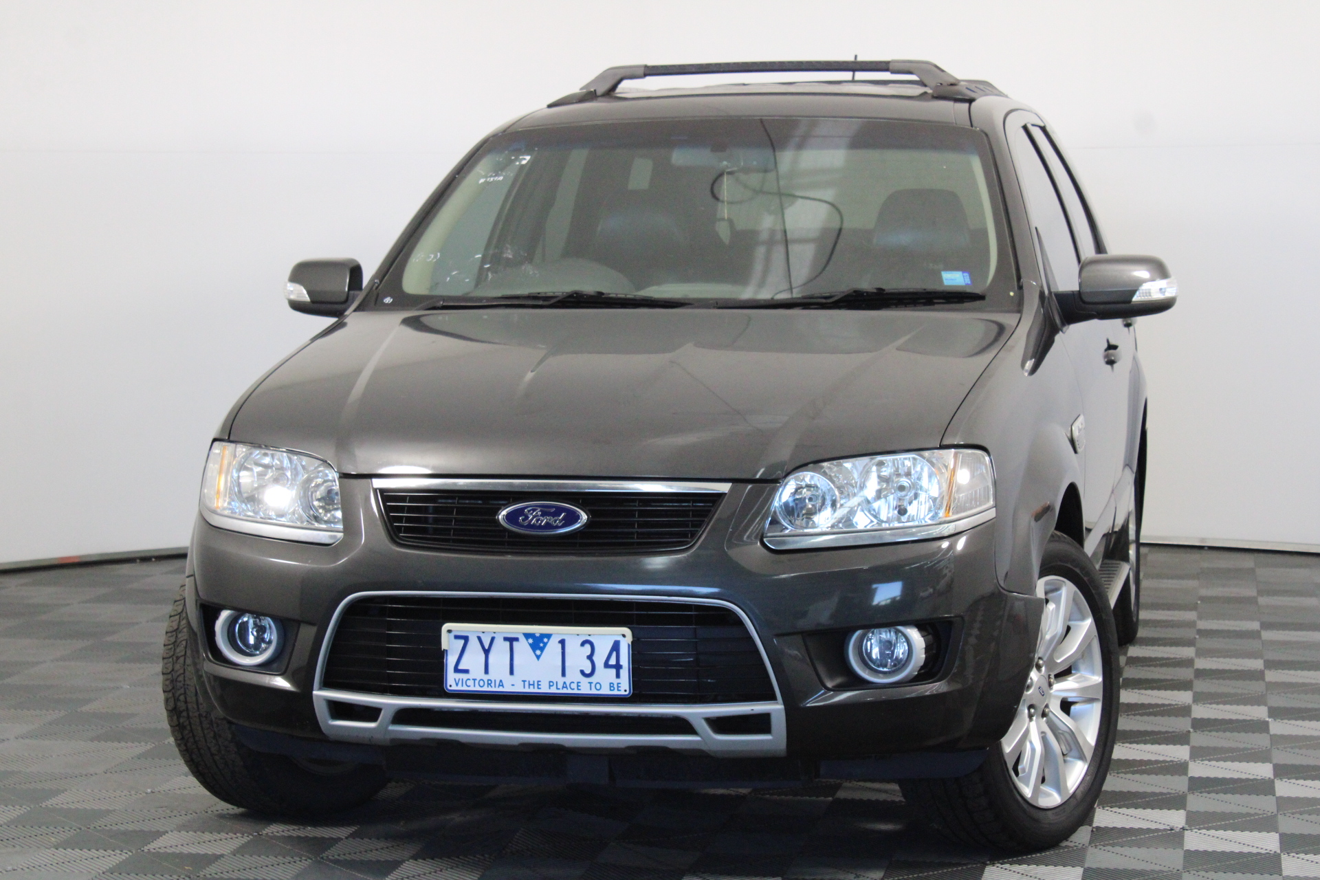 2009 Ford Territory Ghia SY II Automatic 7 Seats Wagon
