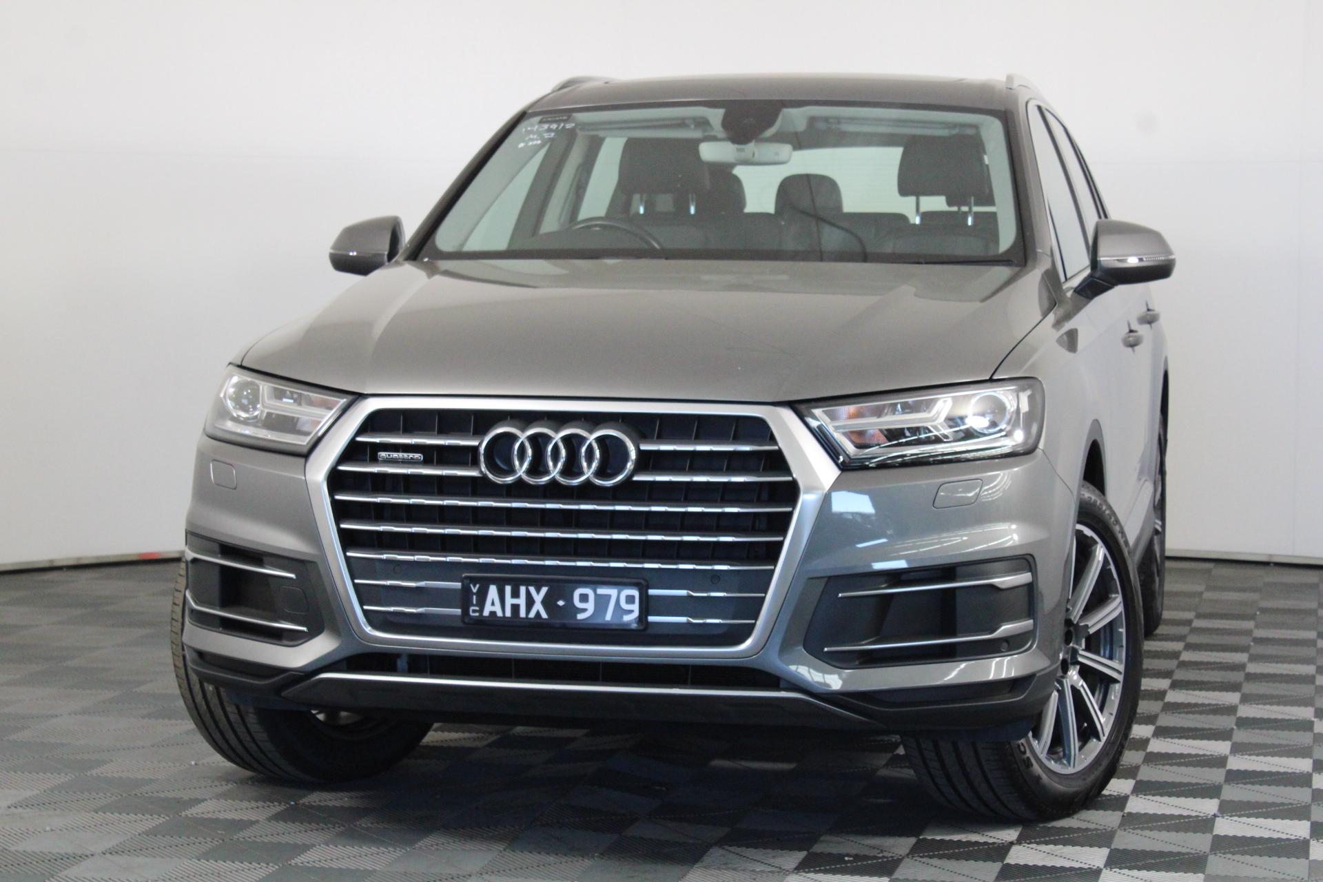 2016 Audi Q7 3.0 TDI Quattro 4M Turbo Diesel Auto 8 Speed 7 Seats Wagon