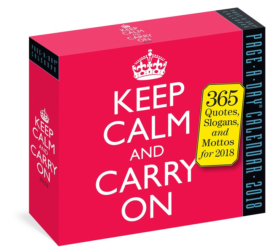 3 x KEEP CALM AND CARRY ON Page-A-Day Calendar 2021. (SN:CC71331) (278257-1