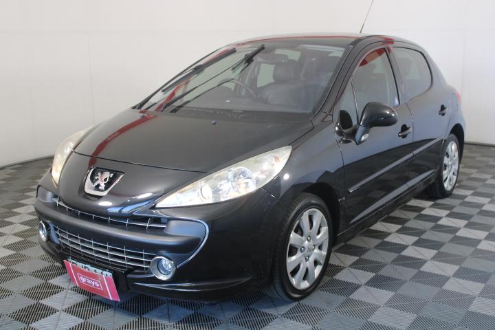 2008 Peugeot 207 XT Automatic Hatchback 94,193km