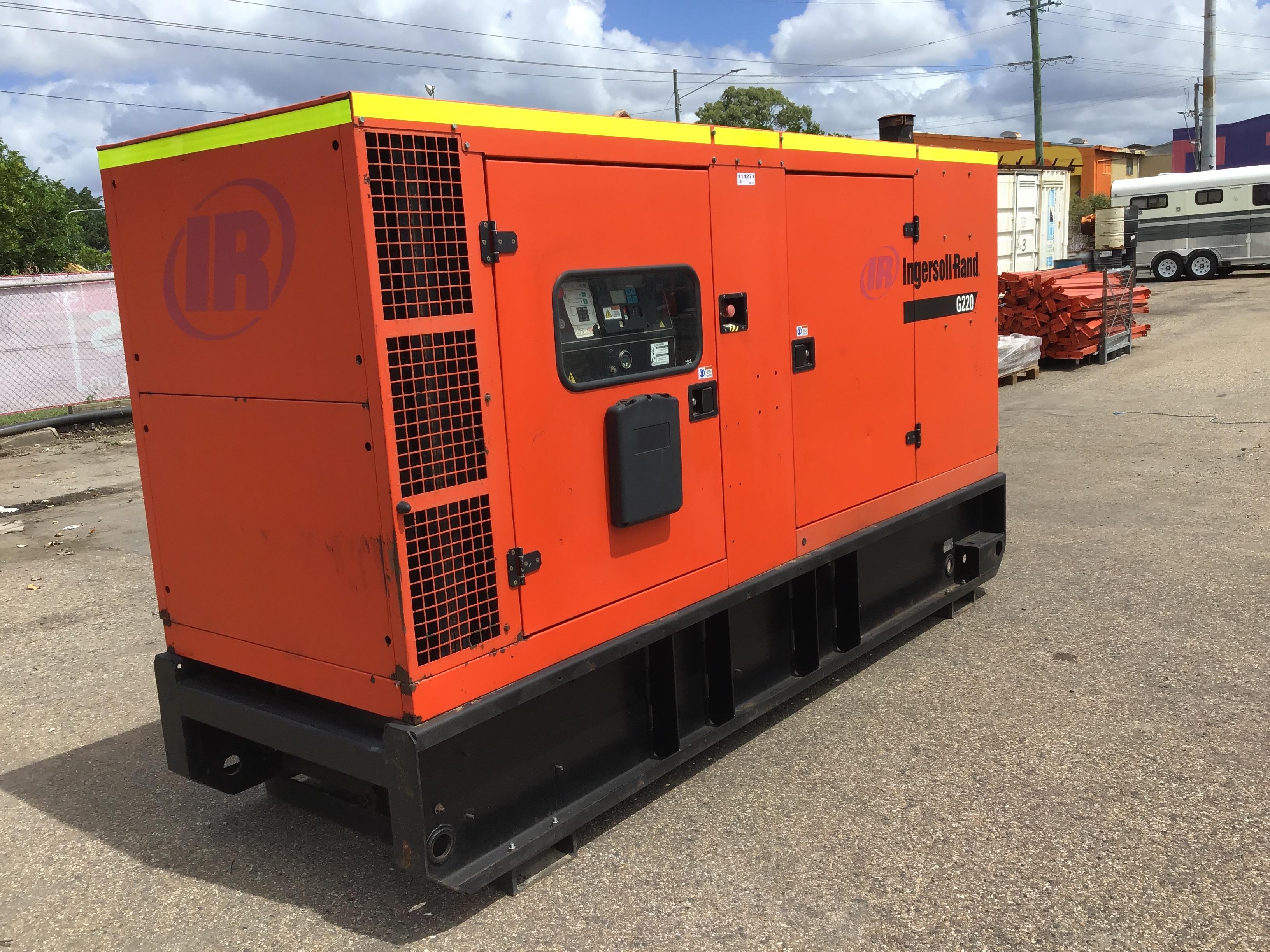 2007 Ingersoll-Rand G220 220kVA Generator
