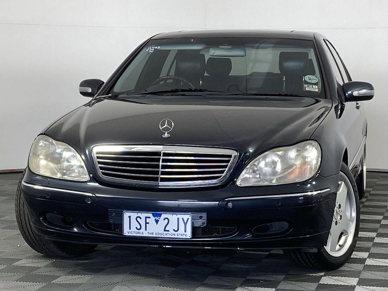 1999 Mercedes Benz S500 L W220 Automatic Sedan
