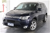2013 Mitsubishi Outlander ASPIRE 4WD ZJ Turbo Diesel Automatic 7 Seat