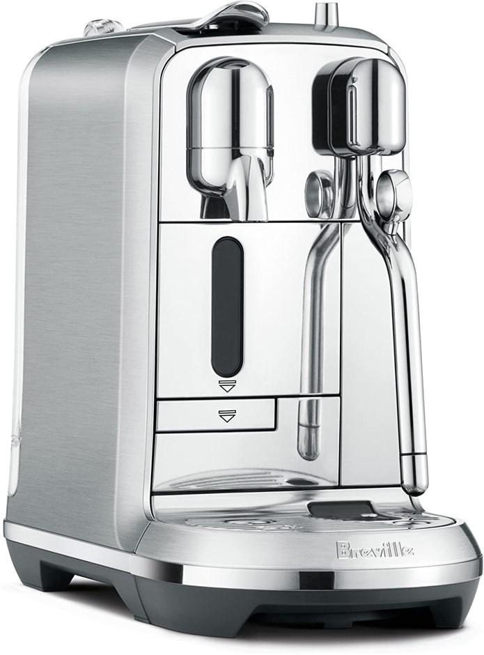 Breville Nespresso Creatista Plus Coffee Machine, Brushed Stainless Steel