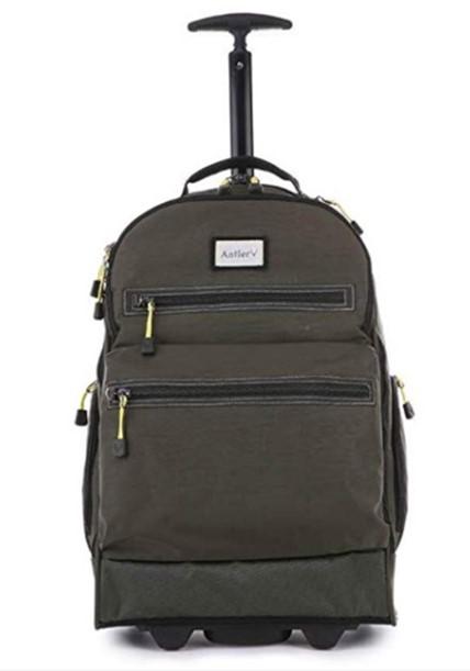 Antler Urbanite Evolve Trolley Backpack Carry-On, Softside, Khaki