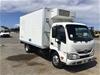 <p>2014 Hino 300 (Ex Fleet) Refrigerated Body Truck</p>