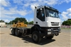 <p>2012 Iveco  Trakker  6 x 6 Cab Chassis Truck</p>