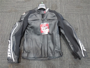 Dainese New Delmar Pelle Leather Motorcy Motorcycle Jacket