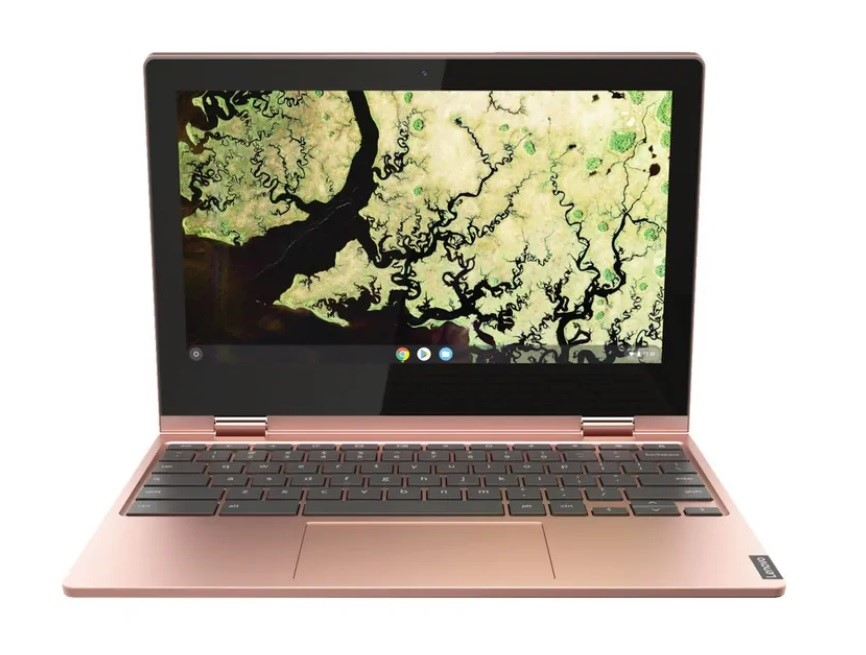 Lenovo Chromebook C340 11.6-inch Notebook, Sand Pink