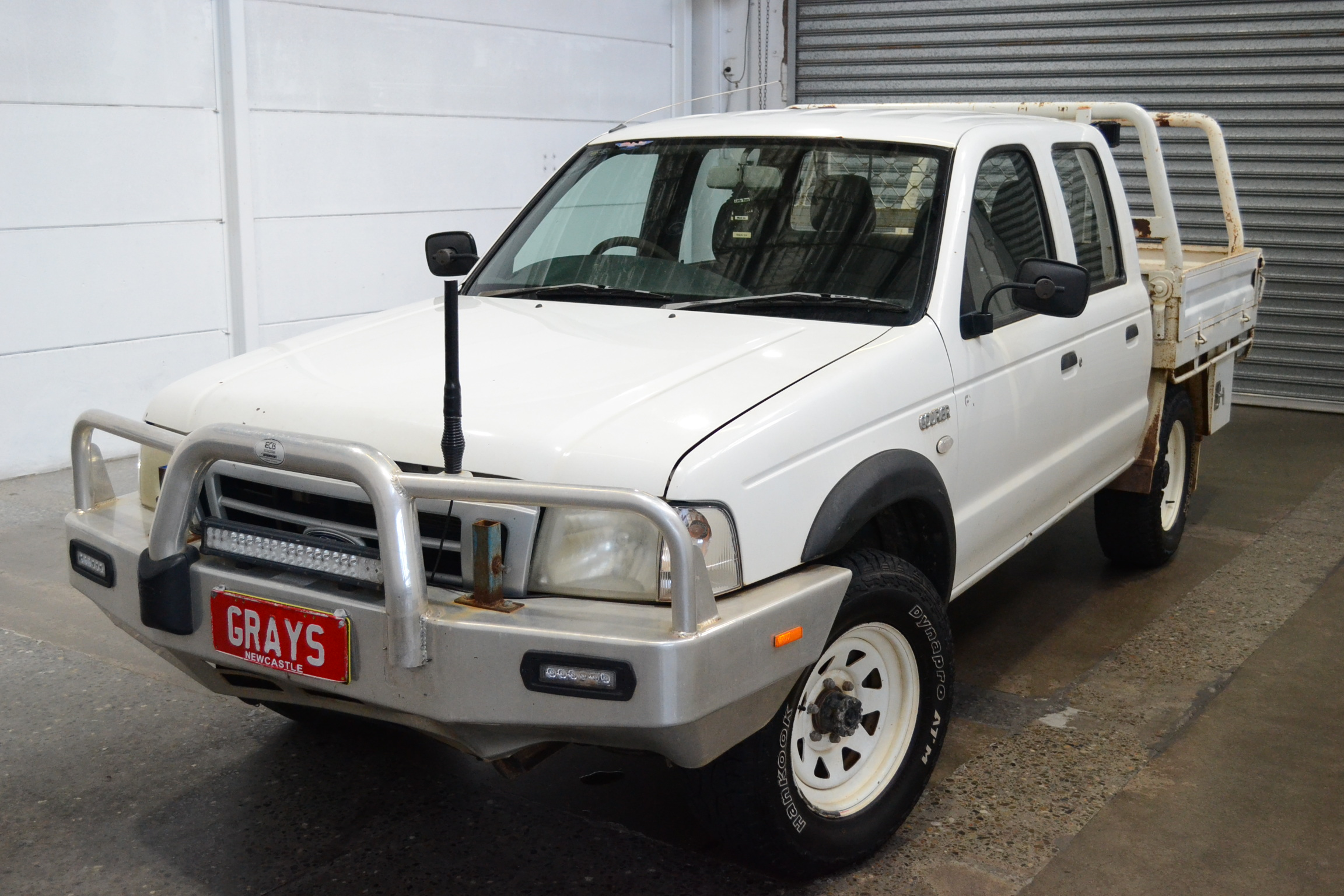 2004 Ford Courier GL 4X4 CREW CAB PH Turbo Diesel Manual Crew Cab Chassis