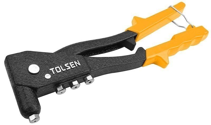TOLSEN Hand Riveter for Aluminium Rivet 2.4, 3.2, 4 & 4.8mm. Buyers Note -