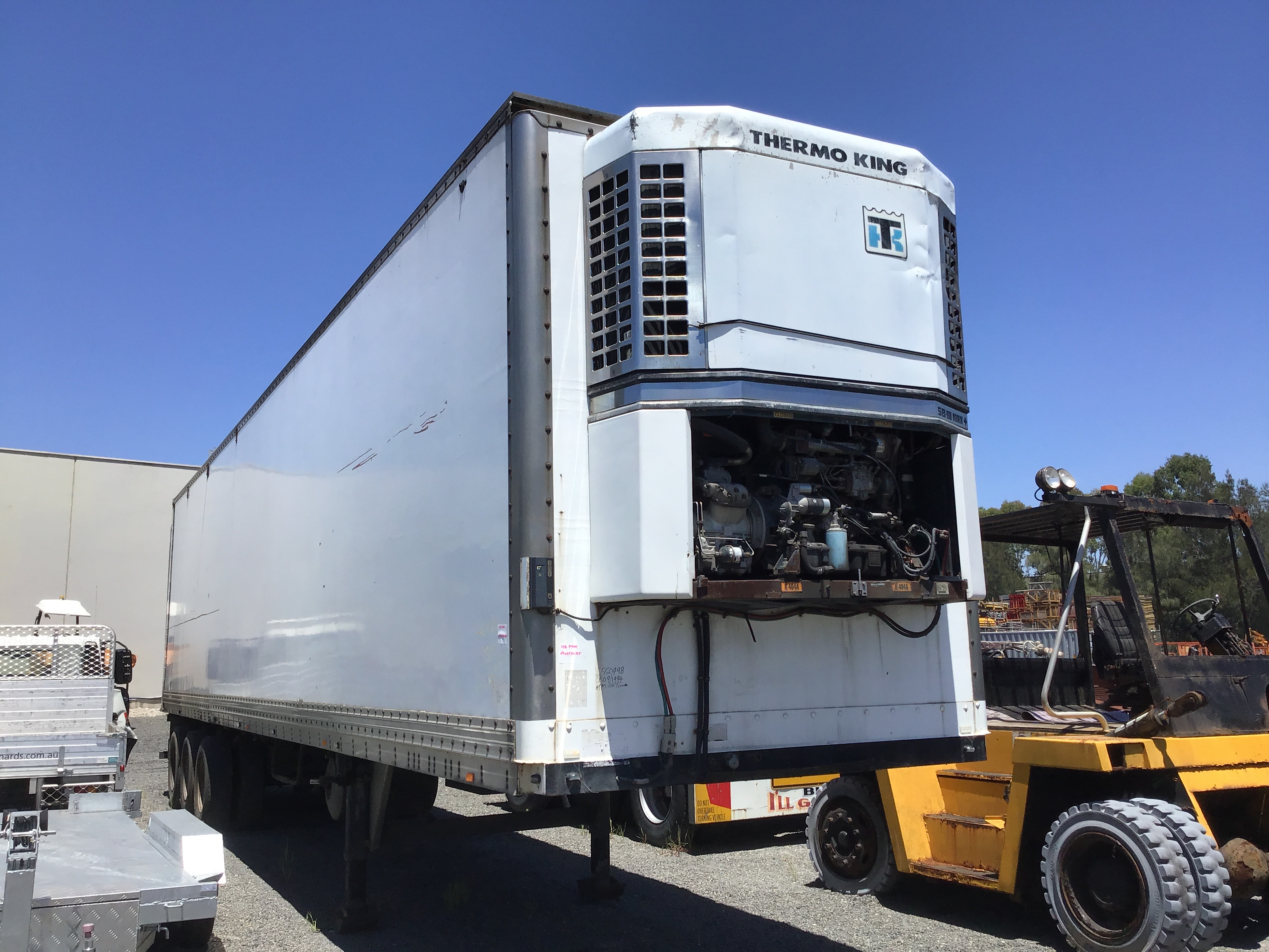 1994 Freighter ST3 Triaxle Refrigerated Trailer