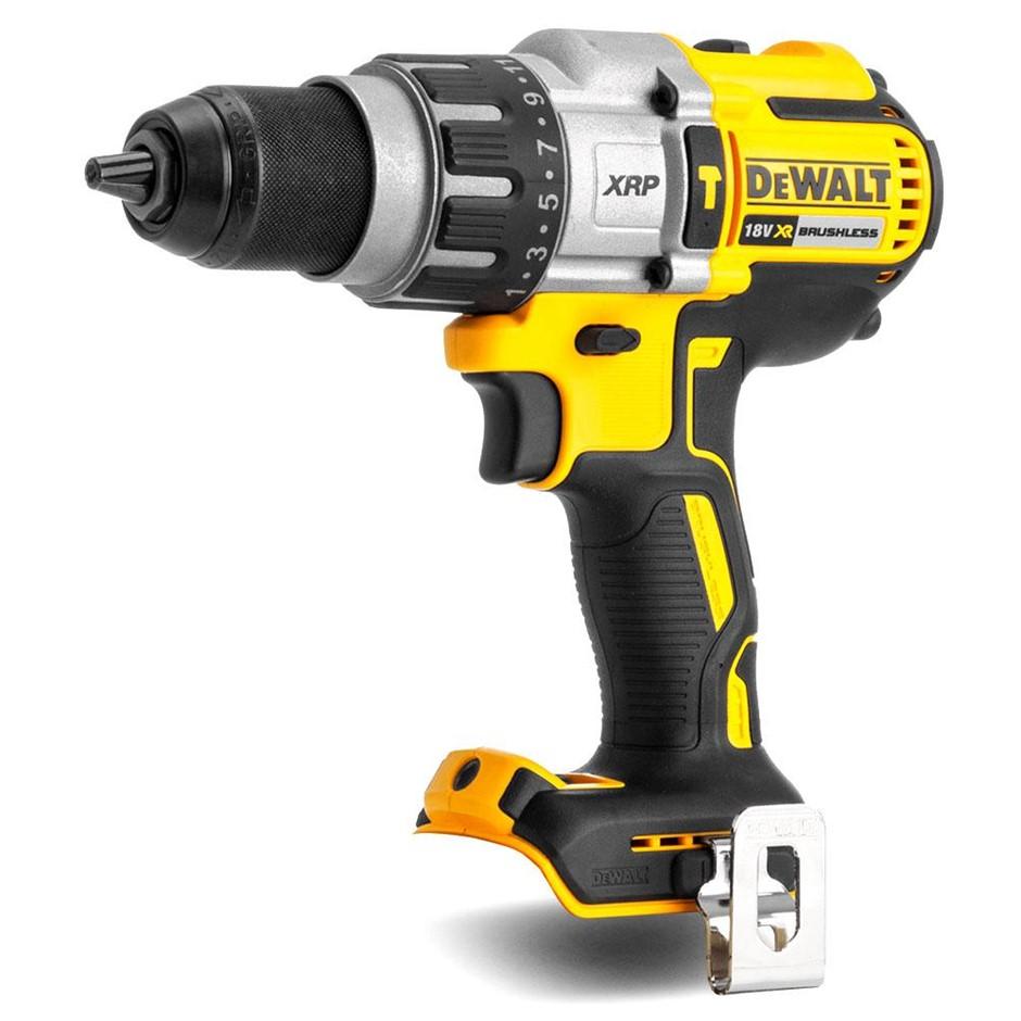 DEWALT 18V Brushless Hammer Drill Driver. Skin Only. N.B. Does not turn on.