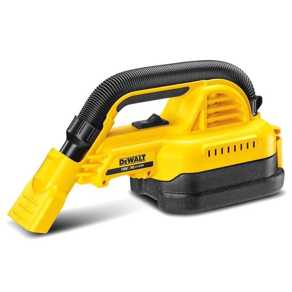 DEWALT 18V XR Li-ion Cordless 1.9L Wet & Dry Hand-Held Vacuum. Skin Only. N