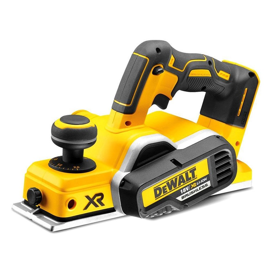 DEWALT 18V XR Li-ion Cordless Brushless Planer. Skin Only. N.B. Does not tu