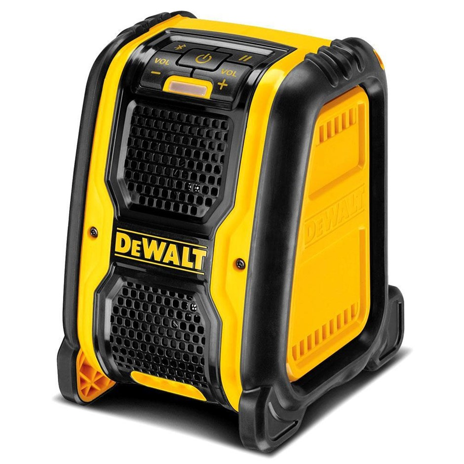 DEWALT 18V Li-ion XR Cordless Jobsite Bluetooth Speaker. Skin Only. N.B. Do