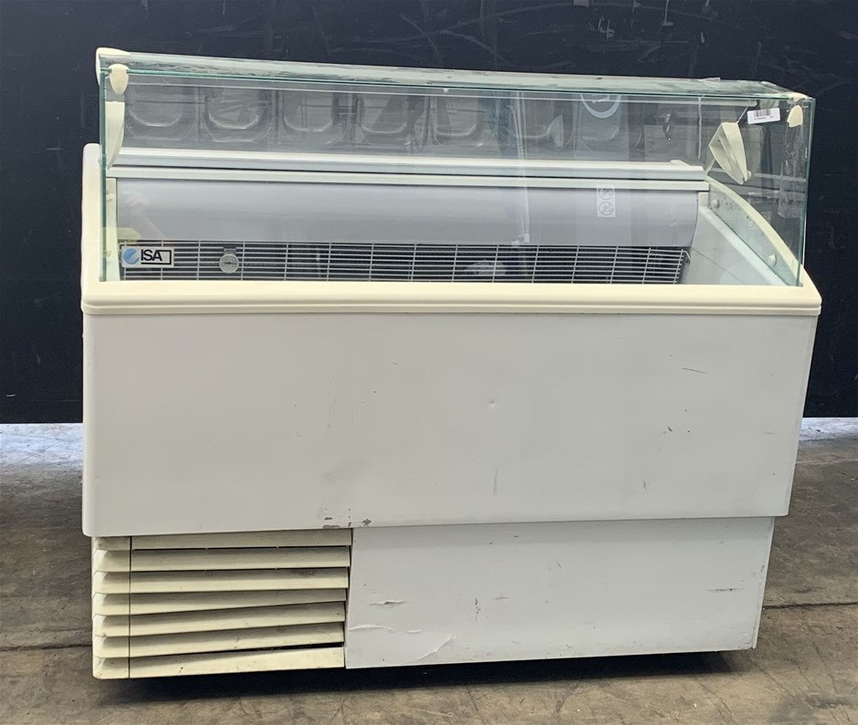 ISA ISETTA 7R TP Ice Cream Display Freezer