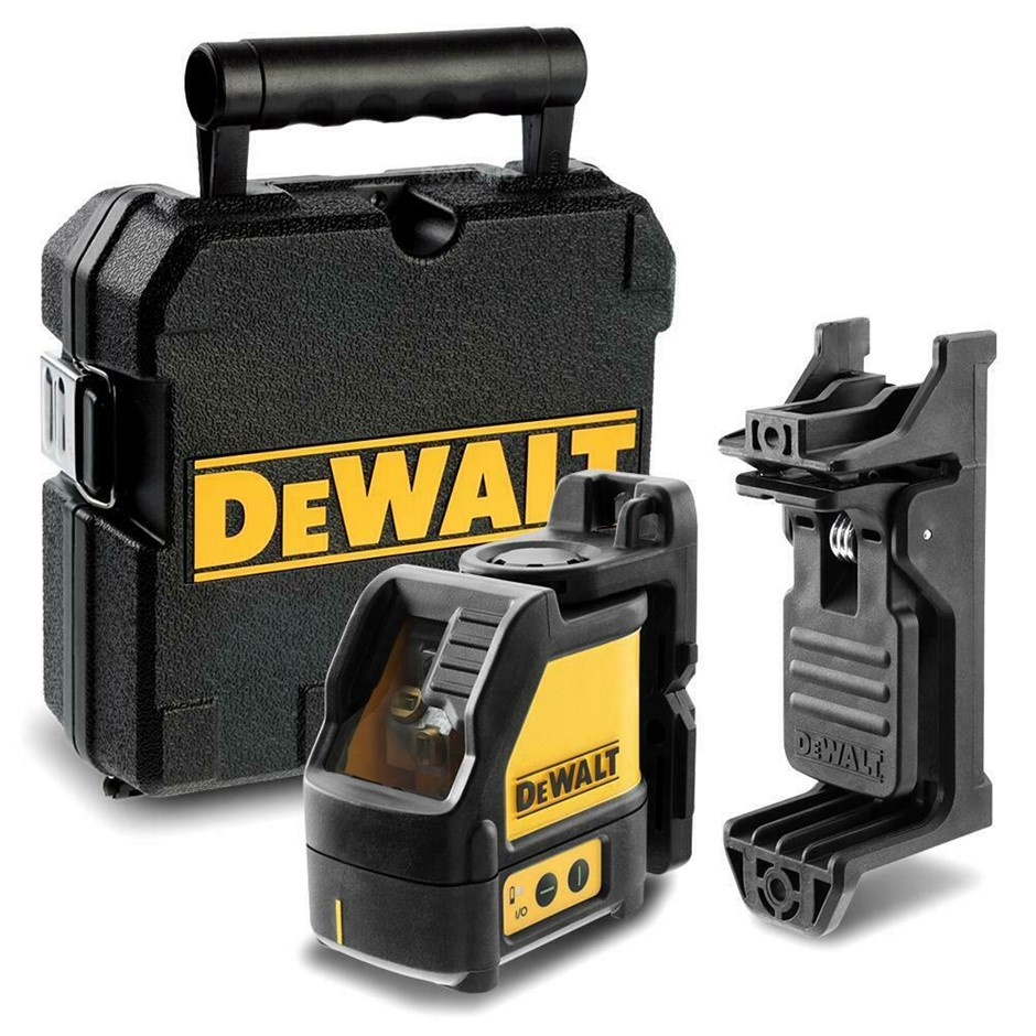 DEWALT Green Beam 2 Way Cross Line Laser, 1/4`` Thread Mount For Use With A
