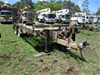 2000 Rogers + Sons R23110 Tandem Beavertail Trailer