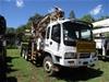 Isuzu FZZ 6 x 4 Crane Borer Truck
