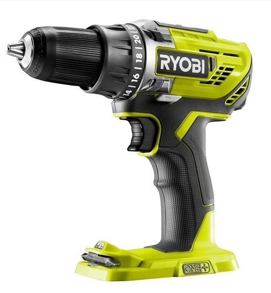 RYOBI 18V Drill Driver with 13mm Chuck. Skin Only. Buyers Note - Discount F