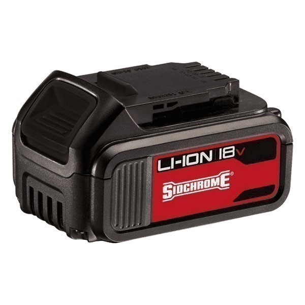 SIDCHROME 18V 4.0Ah Li-Ion Slide Pack Battery Buyers Note - Discount Freigh