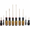 STANLEY 10pc Screwdriver Set, Colour Coded Cushion Grip Handles, Philips, S