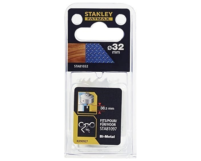 STANLEY FatMax 83mm Bi-Metal Hole Saw. Buyers Note - Discount Freight Rates