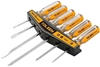2 x TOLSEN 6pc CrV Screwdriver Sets with Magnetic Tip, Sizes: 3x75, 5x100,