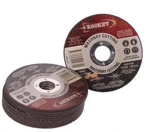 10 x Masonry Cutting Discs 115x3x22mm. B