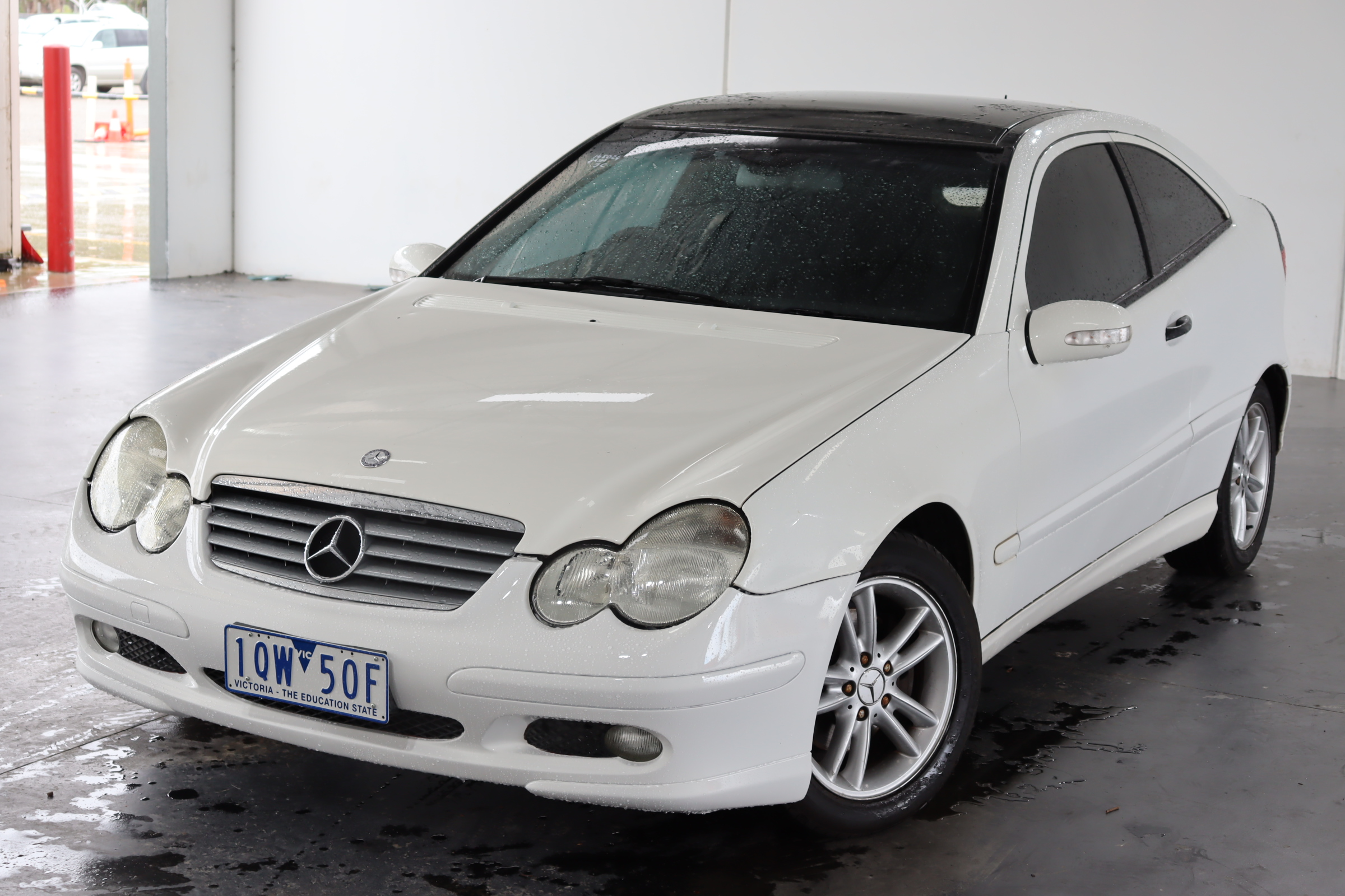 2001 Mercedes Benz C200 Kompressor CL203 Automatic Coupe