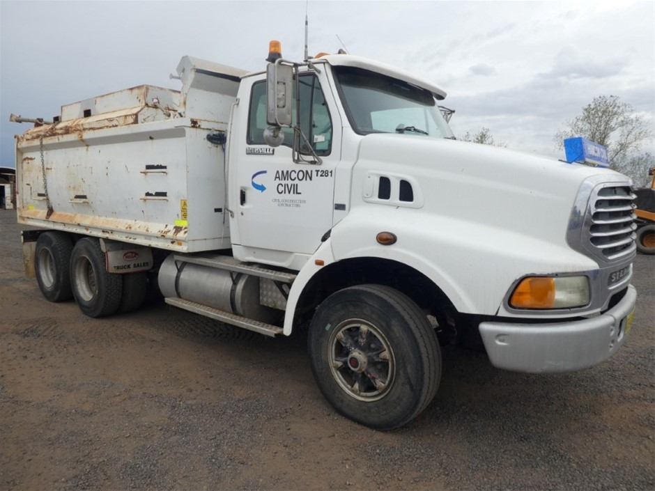 1997 Sterling 6x4 Tipper Truck With Slide in Water Tank