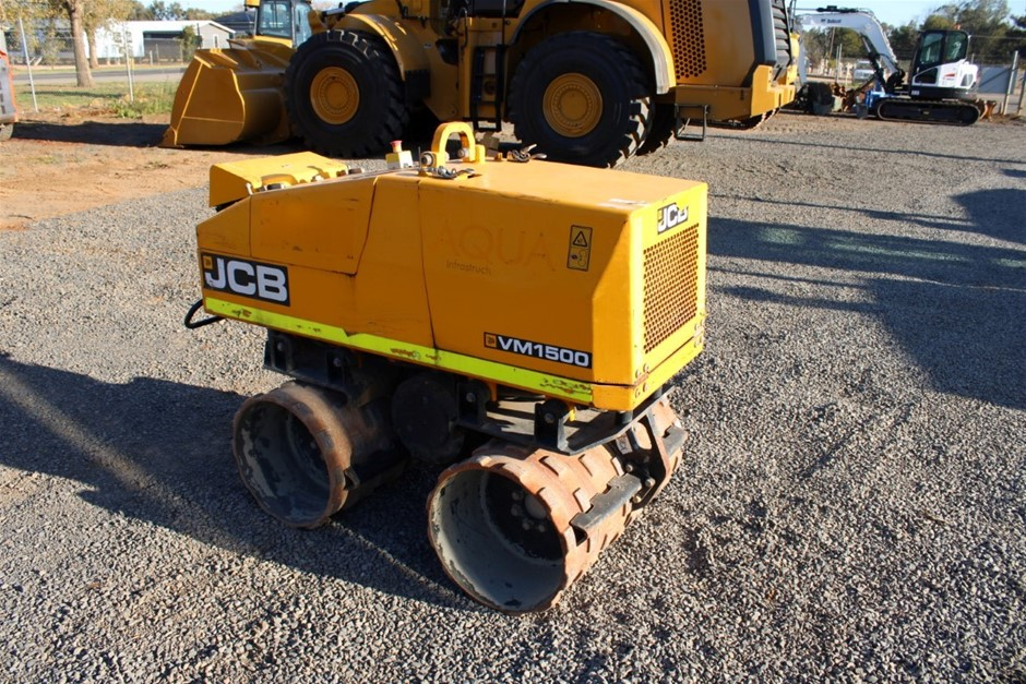JCB VM1500 Trench Roller