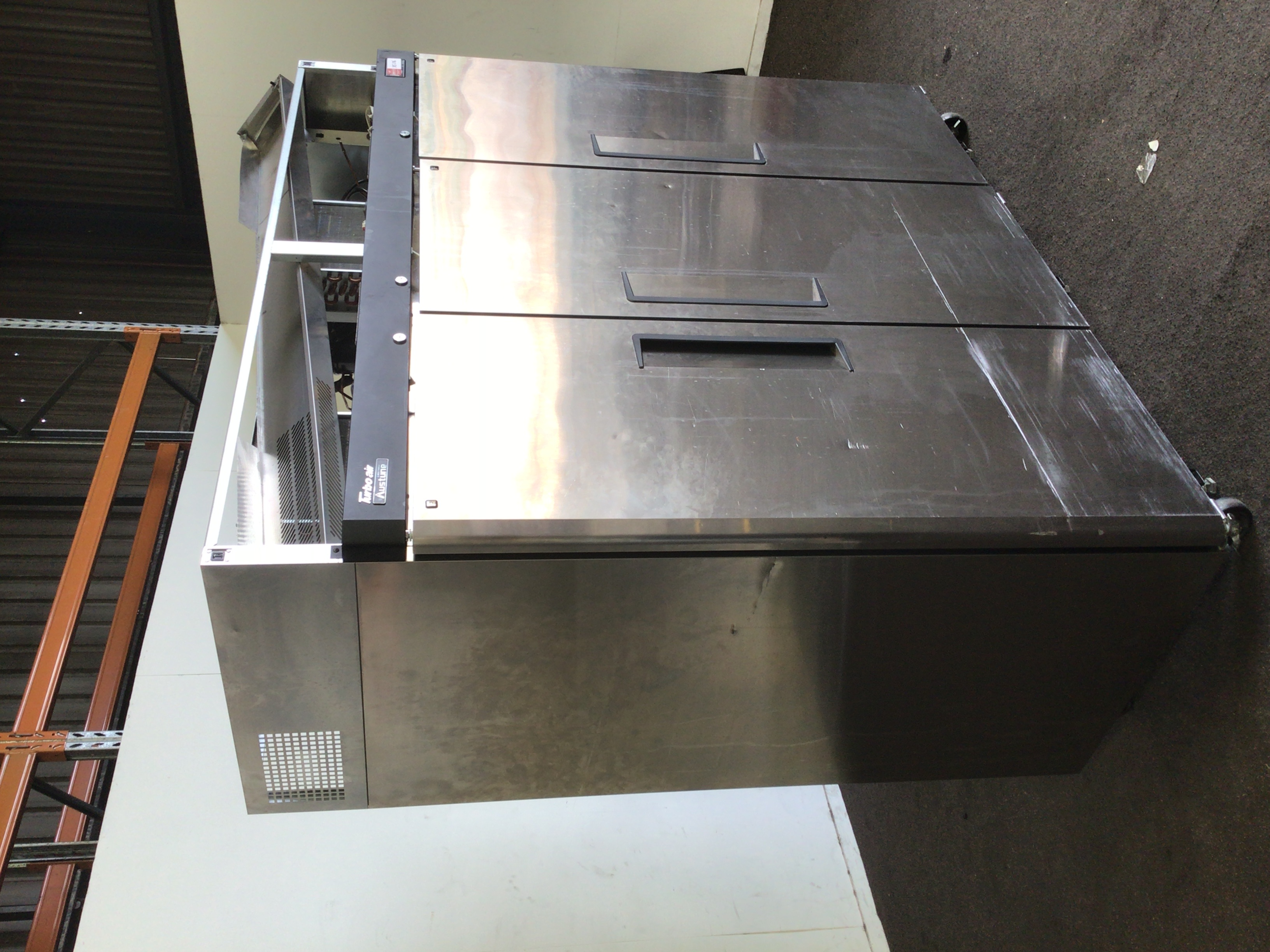 Turbo Air Upright Freezer