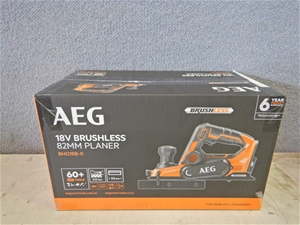 AEG BH018B-0 Brushless 82mm Cordless Pla