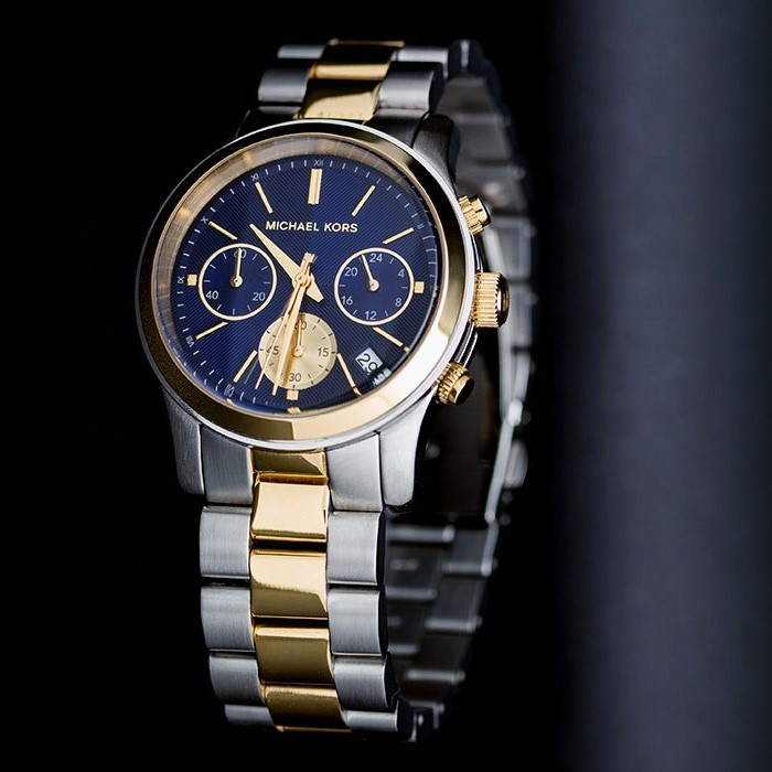 New Michael Kors Coouture NY chronograph classy unisex watch,
