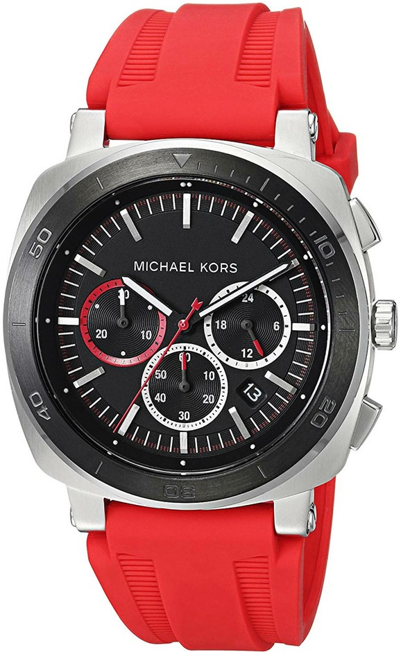 Mens new Michael Kors Couture NY very sporty fantastic chrono. watch.
