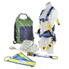 LIFT SAFE Premium Roofers Kit, Comprising; Full Body Safety Harness with Wo