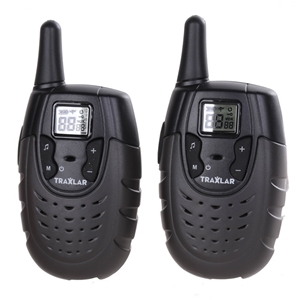 Pair TRAXLAR UHF CB Radios, 80 Channels,