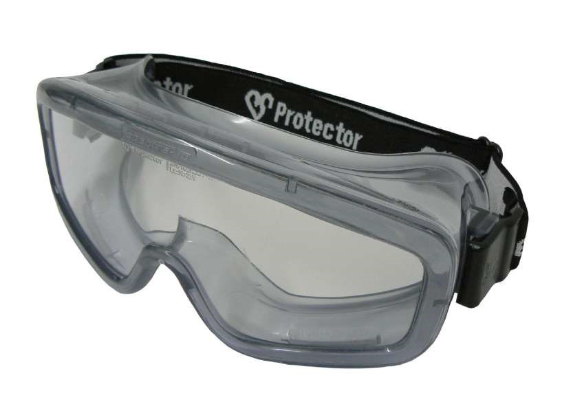 15 x 3M Chemview Vision - Anti-Fog -Clear Polycarbonate Lens Safety Goggles